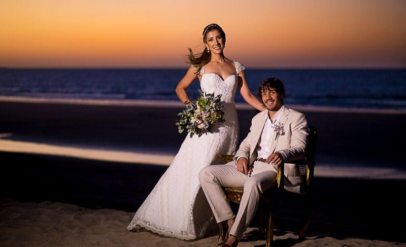 Manuella e Carlos Bruno