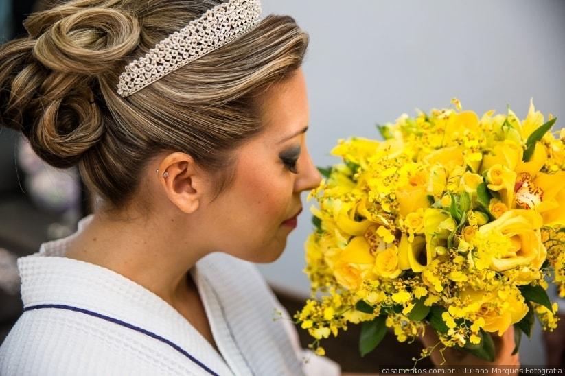flores amarelos para alegrar seu grande dia