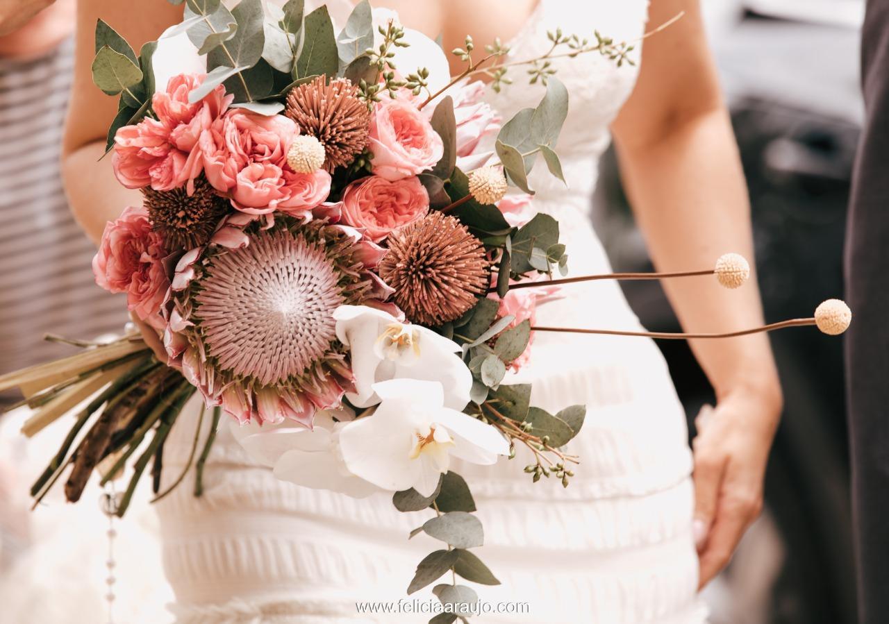 Mini wedding de manhã em  – Berenice e  Eduardo